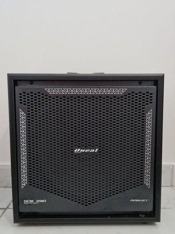 Kit Baixo Tagima XB21 Preto 4 Cordas Amplificador Oneal 2910 - Foto 3