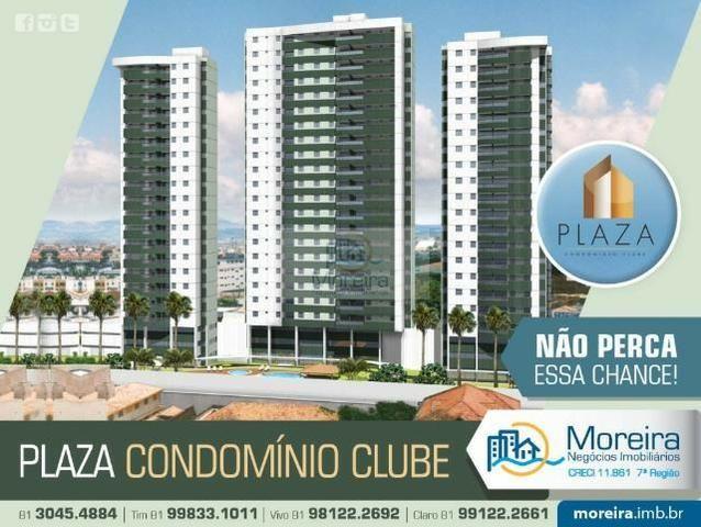 Edf. Plaza Cond. Clube, 3qtos, Maurício de Nassau