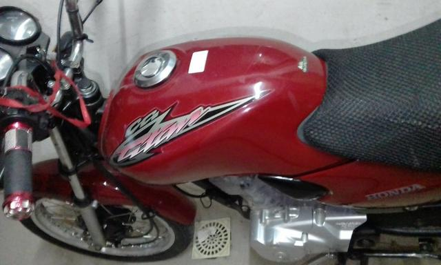 Honda Cg 125 com aro de aluminio