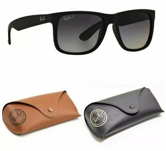 04f83d443 Promoção Óculos Ray ban Justin / Novos/ Rayban Pronta entrega ...