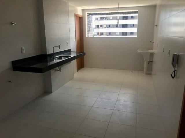 Apartamento novo Edf Milano 140m - Jatiúca - Foto 5