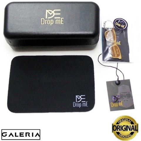 dc5e39687 Oculos de Sol Drop mE Clubmaster Flat Espelhado Dourado DP049D ...