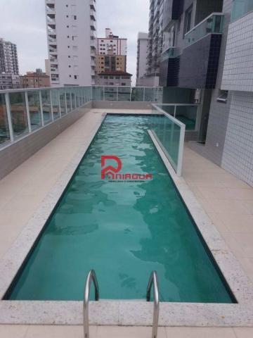 Apartamento para alugar com 2 dormitórios em Ocian, Praia grande cod:1088 - Foto 2