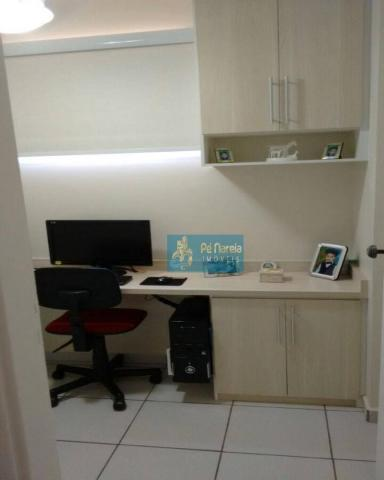 Apartamento com 2 dormitórios à venda, 104 m² por R$ 450.000 - Centro - Cosmópolis/SP - Foto 14