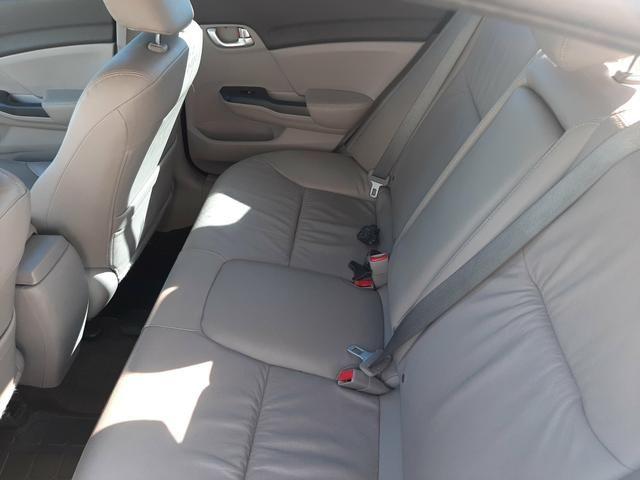 Honda Civic LXR 2014 2 dono particular - Foto 9