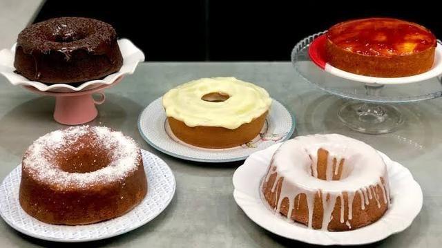 Apostila de bolos caseiros