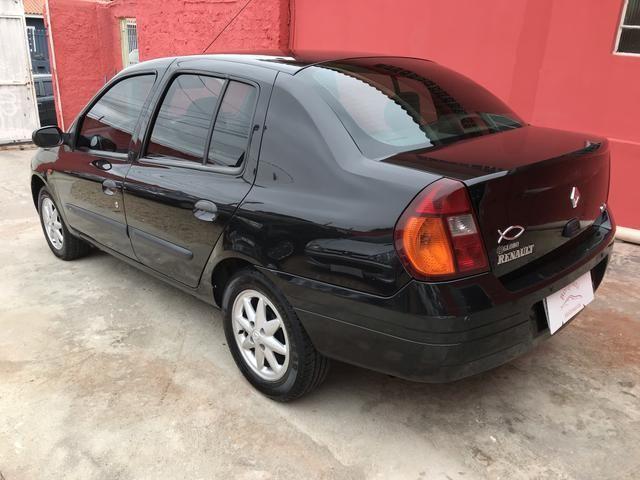 Clio sedan 2003 1.6 RT completo - Foto 8