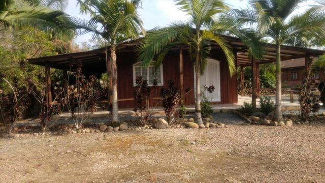 Chácara com Duas Casas rústicas (6 quartos), lado do Rio Palmital - Foto 12
