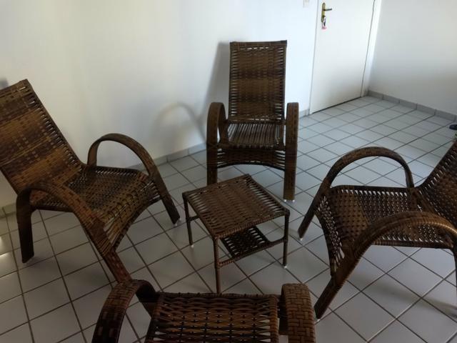 Kit Cadeiras Junco Sintético - Foto 2