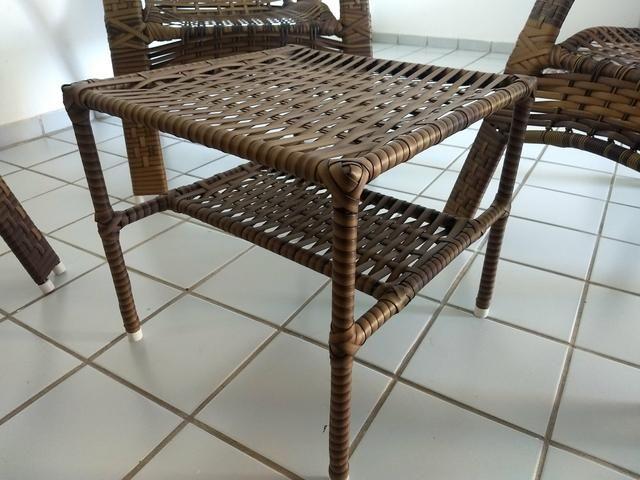 Kit Cadeiras Junco Sintético - Foto 4