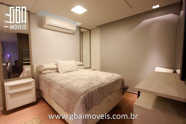 Studio Residence 100% mobiliado, 1 dorm, sacada e 1 vaga - Pelotas/RS - Foto 8