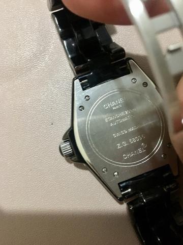 975a113e911 Relógio Chanel J12 Black Ceramic Original - Bijouterias