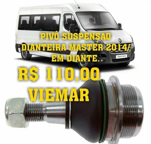 Pivô suspensão dianteira master 2014 em diante