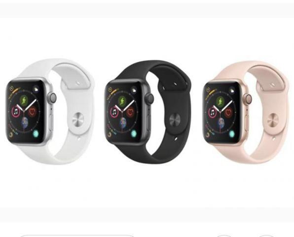ba216b8ca4a Stock Cell - Apple Watch Séries 4 44mm Silver Rosé LACRADO R  2.500