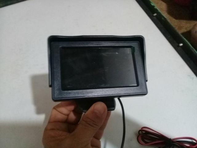 Monitor 4.3 lcd para sensor de ré