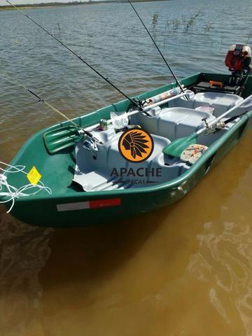 Barco Apache Pescador I/ Barco de Pesca/ Barco Motor/Melhor que caiaque - Foto 5