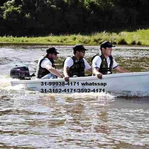 Barco Apache Pescador I/ Barco de Pesca/ Barco Motor/Melhor que caiaque - Foto 2