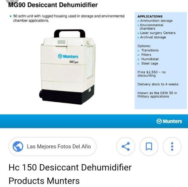Desumidicador de ar Munters - abaixo de valor - Foto 3