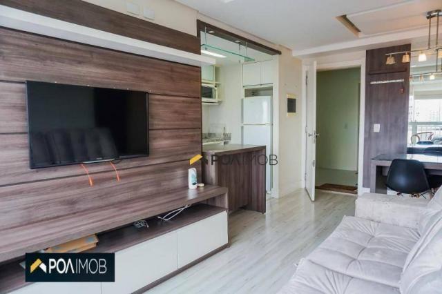 Apartamento com 2 dormitórios para alugar, 60 m² por R$ 2.652,00/mês - Cristo Redentor - P