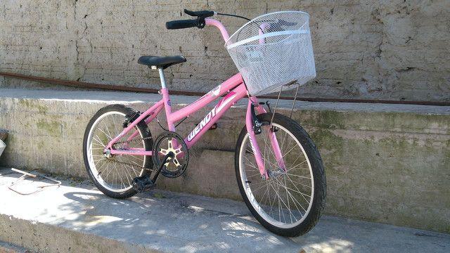 Bicicleta aro 20 rosa - Foto 3