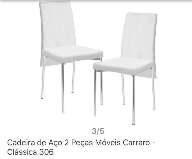 Conjunto de mesa com 2 cadeiras - Foto 3