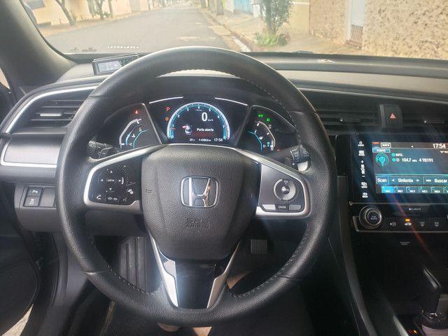 Honda Civic 2.0 EXL CVT 2018 - Chumbo - Foto 6