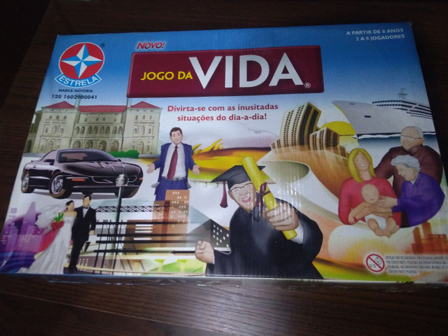 JOGO DA VIDA ESTRELA