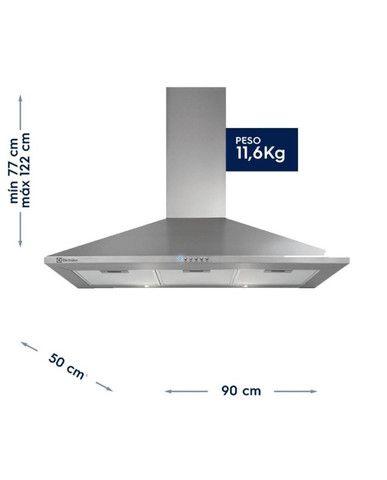 Coifa de inox Electrolux (90cm) - bivolt (valor a negociar) - Foto 3