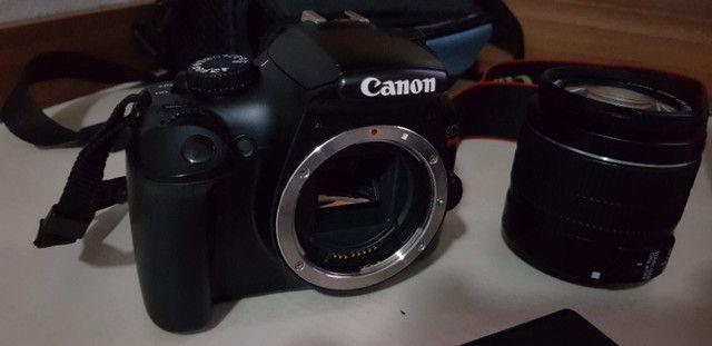 Camera Canon EOS Rebel T3 - Ler descrição