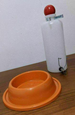 Bebedouro ou Pote para Porquinho da Índia, Twister ou Coelho - Foto 2