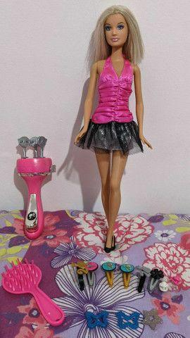 Barbie Ultra Hair Tranças com todos acessórios