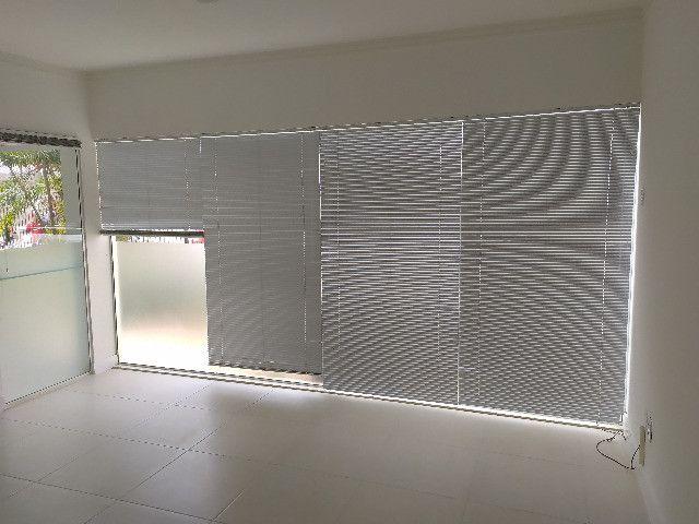 4 Persianas Horizontais Alumínio 2,14 x 1,12 m