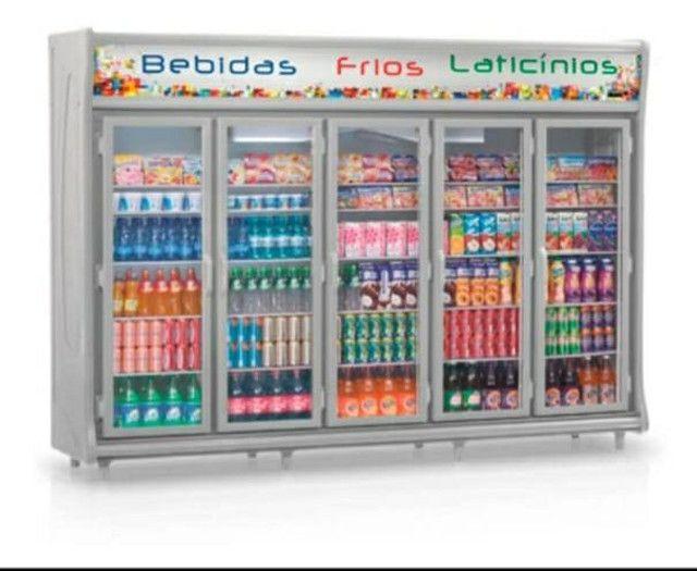 Vende-se Refrigerador/Expositor Top Vertical Remini Gevt 5 Portas G. Está Nova!