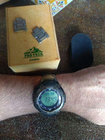 Casio Sport Pro Trek PRG80T vendo ou troco por Smartwatch de meu interesse