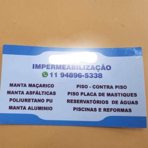 Serviços profissional de impermeabilizaçãos