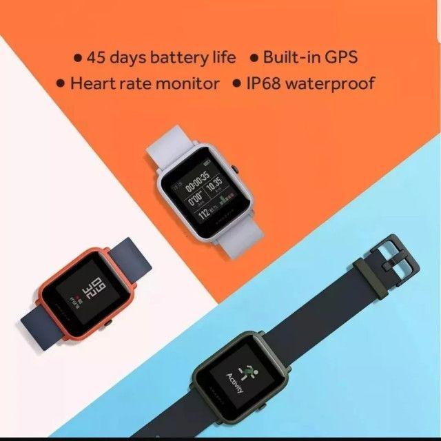Relógio Smartwatch Xiaomi Amazfit Bip A1608 - Foto 4