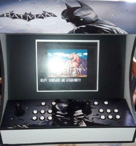 Fliperama arcade nova zero delay