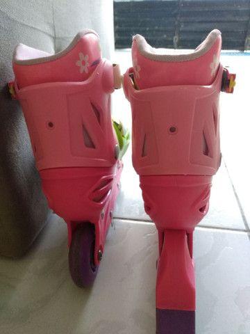 Patins Roller In-Line feminino - Foto 5