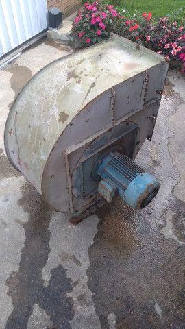 Exaustor Centrífugo Industrial Motor 5cv Trifásico - Foto 4