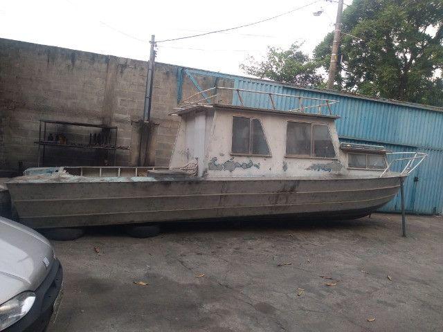 Barco cabinado de 28 pés R$ 35.600,00 - Foto 4