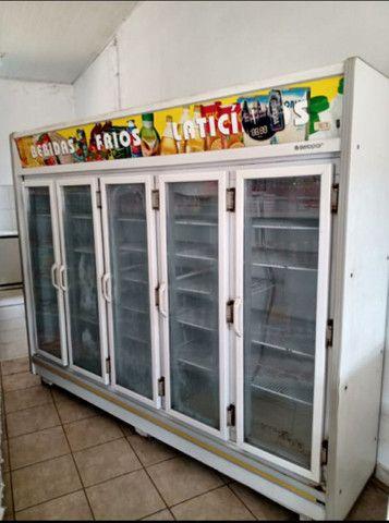 Vende-se Refrigerador/Expositor Top Vertical Remini Gevt 5 Portas G. Está Nova! - Foto 4