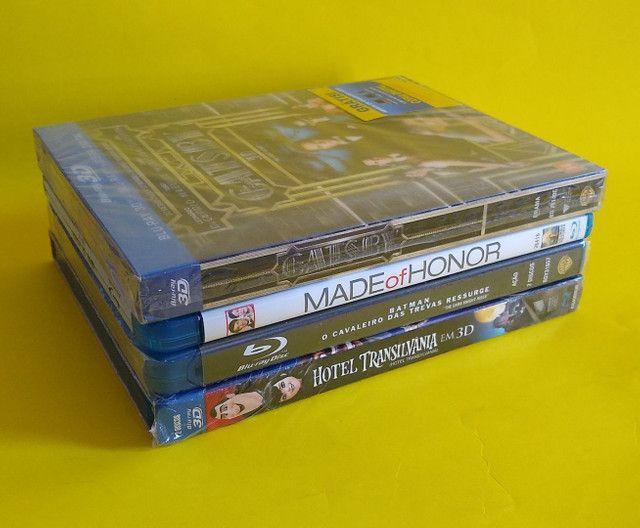 Lote com 4 edições em Blu-ray