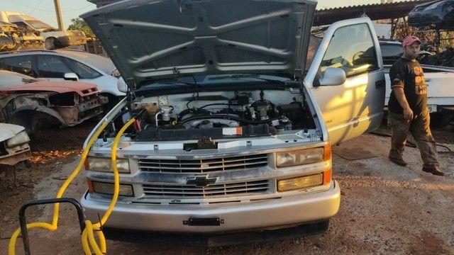 Chevrolet Silverado 1999 6CL Gasolina Sucata Revisado Peças - Foto 13