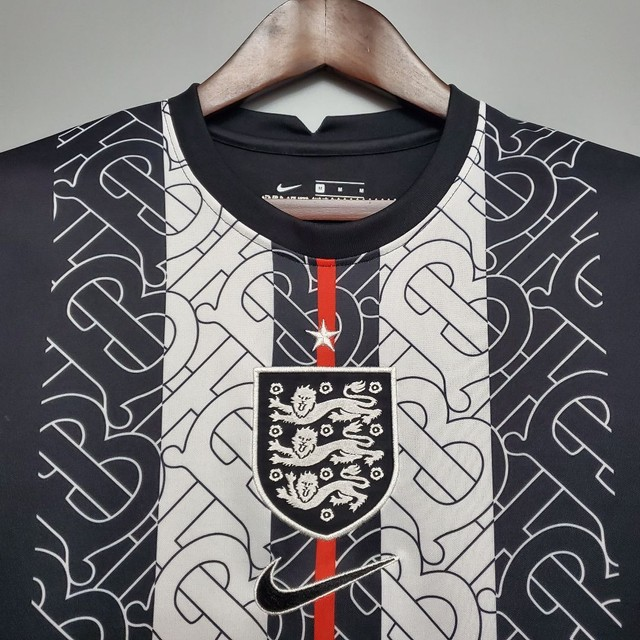 Camisa Inglaterra preta - Foto 2