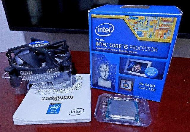 Processador Intel Core i5-4430 3.0Ghz + Cooler Box e Pasta Térmica