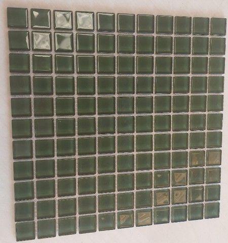 Pastilha de vidro 30x30 A089 Algas 2,5x2,5-Primeira Linha - Foto 4