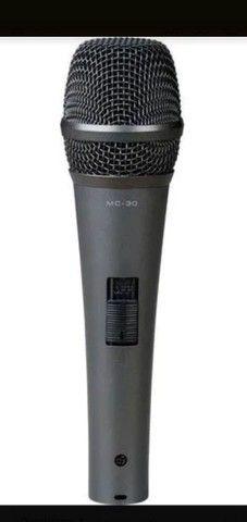 Microfone MC-30 + Cabo 5 metros - Foto 3