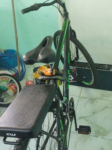 Bicicleta aro grande maior que 26 leia o anúncio - Foto 3