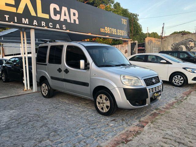 Fiat Doblò Essence 1.8 7 lugares 2012 completa Extra!!  - Foto 2