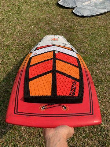 SUP Wave Hawaiano Kazuma 7?6? Carbono Stand Up Paddle ZERO! - Foto 4
